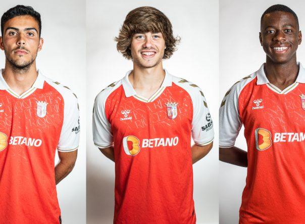 Trio nos Sub-19 de Portugal