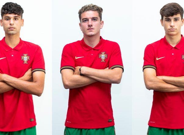 Três Gverreiros na Seleção Nacional Sub-20