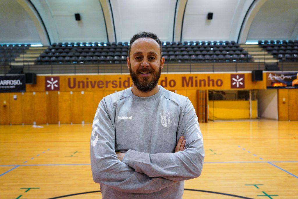 Bruno Guimarães é o novo treinador do SC Braga/AAUM