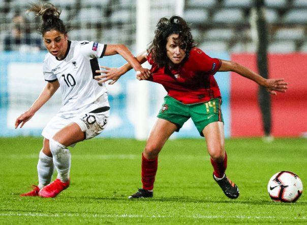 Dupla Gverreira em destaque na vitória frente à Albânia 2