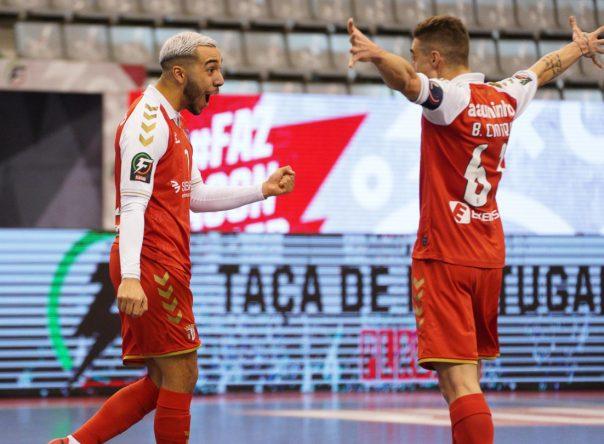 SC Braga/AAUM na final da Taça de Portugal Placard 2