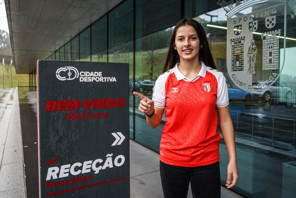 Bárbara Pereira é reforço do SC Braga