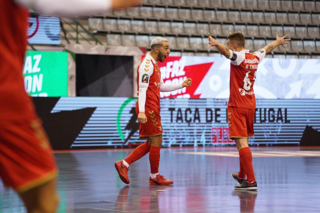 SC Braga/AAUM na final da Taça de Portugal Placard