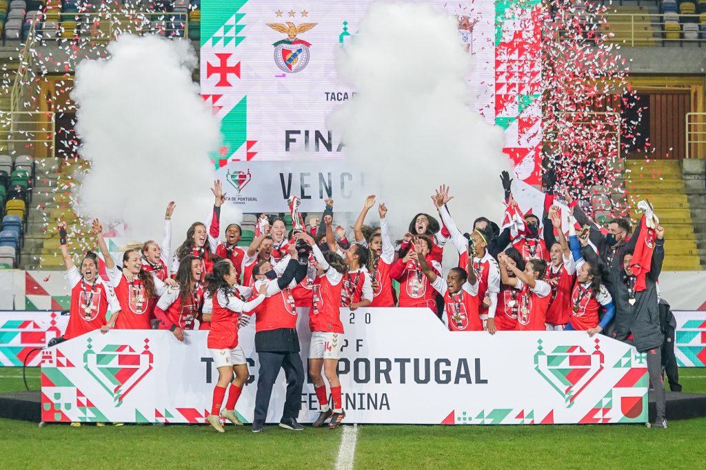 SC Braga vence Taça de Portugal Feminina 6