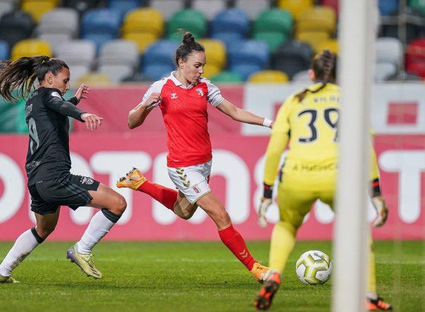 SC Braga perde na final da Taça da Liga Feminina 2