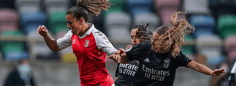 SC Braga perde na final da Taça da Liga Feminina