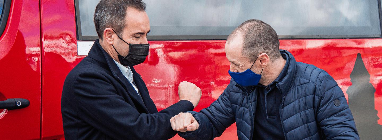 SC Braga doa autocarro à Irmandade de São Bento da Porta Aberta 1