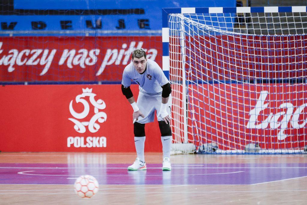 Miguel Ângelo e Vítor Hugo na vitória da Seleção