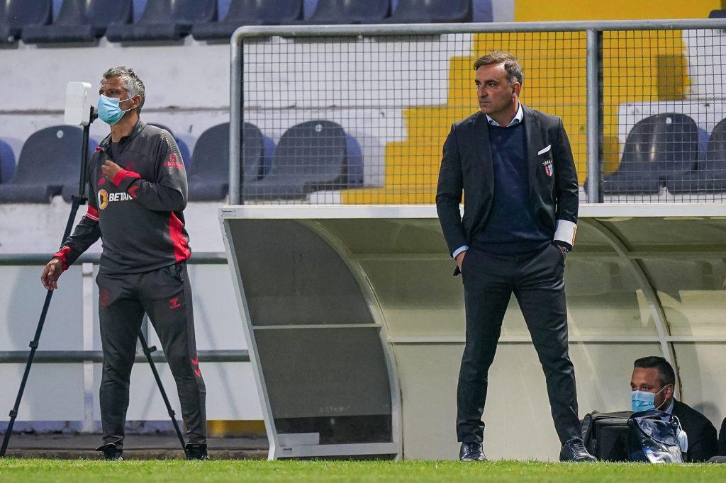 """Carlos Carvalhal: """"São três pontos preciosos"""" 3"""