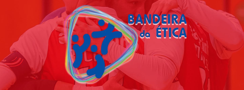 SC Braga/AAUM certificado com a Bandeira de Ética 2