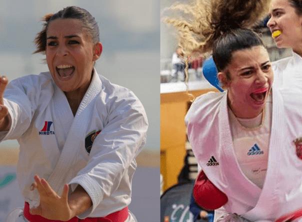 Patrícia Esparteiro e Tânia Barros no Karaté 1 - Premier League