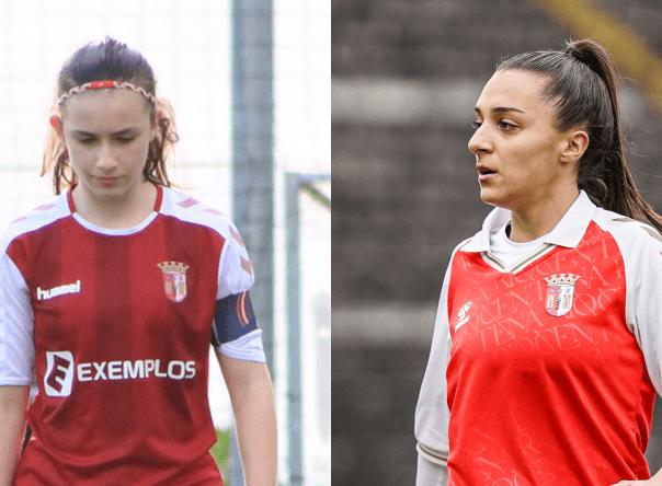 Bárbara Afonso e Leonor Freitas na Seleção Sub-19