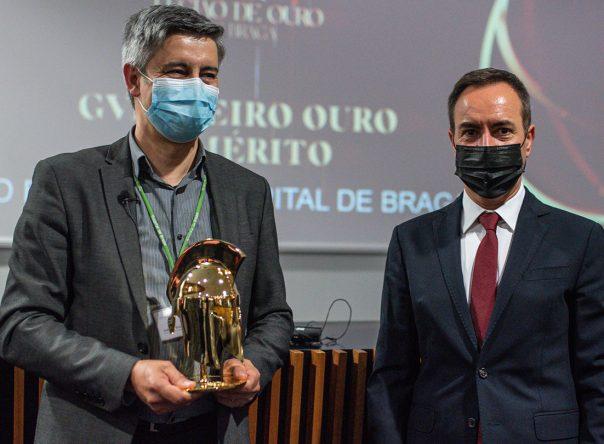 Hospital de Braga recebe o prémio de Gverreiro de Ouro e Mérito 2