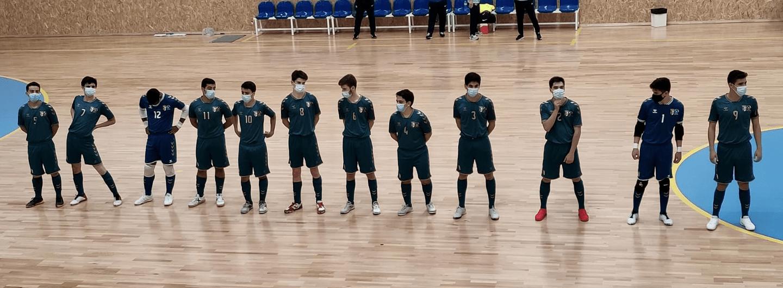 Juniores vencem na estreia no Torneio Nacional Sub-19 de futsal 2