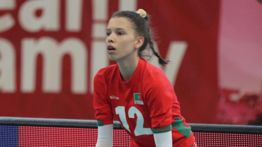 Leonor Coelho na Seleção Nacional Sub-18 2