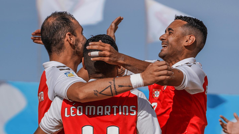 Vitória frente ao Sporting na estreia