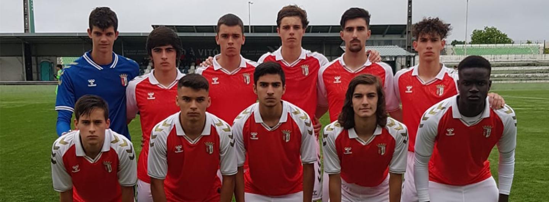 Sub-17 empatam com o Rio Ave FC 1