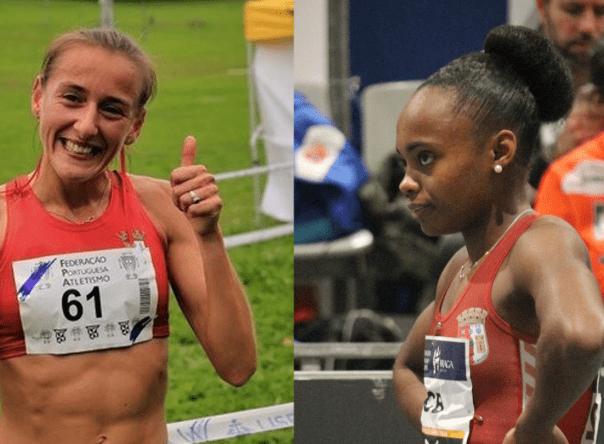 Carla Vanessa e Susana Francisco na Campeonato da Europa de Nações