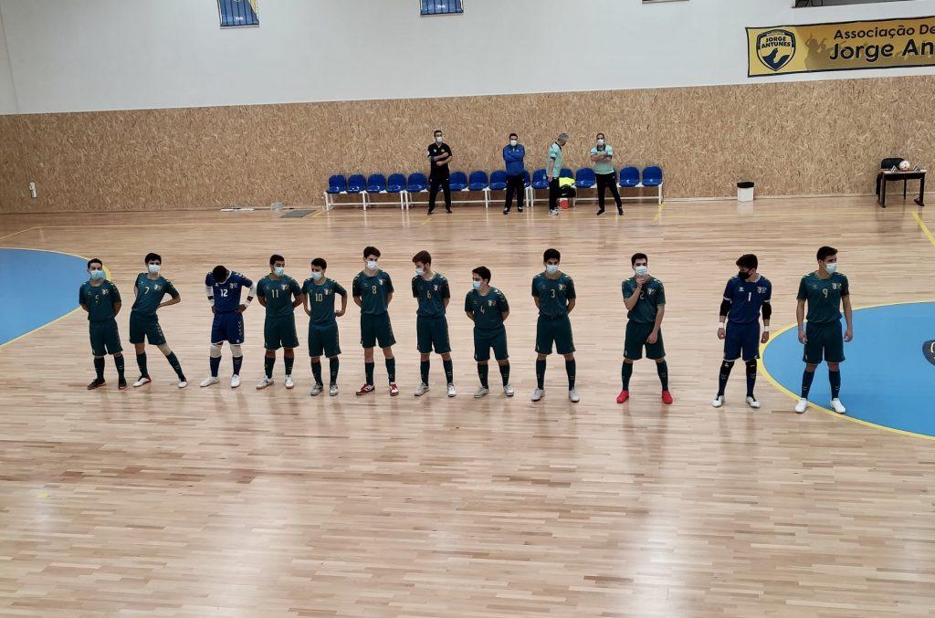 Juniores vencem na estreia no Torneio Nacional Sub-19 de futsal