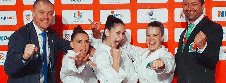 Patrícia Esparteiro conquista bronze nos Europeus de Karaté 3