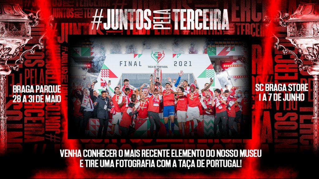 Taça de Portugal em exposição nas Lojas Oficiais