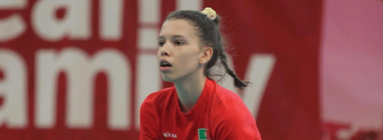 Leonor Coelho na Seleção Nacional Sub-18 3