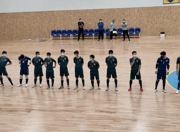 Juniores vencem na estreia no Torneio Nacional Sub-19 de futsal 1