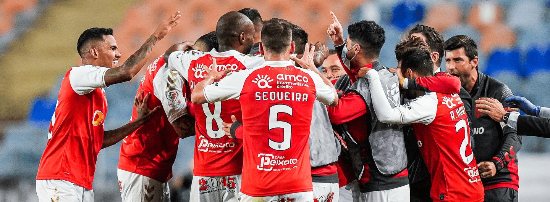 SC Braga vence a Taça de Portugal 1