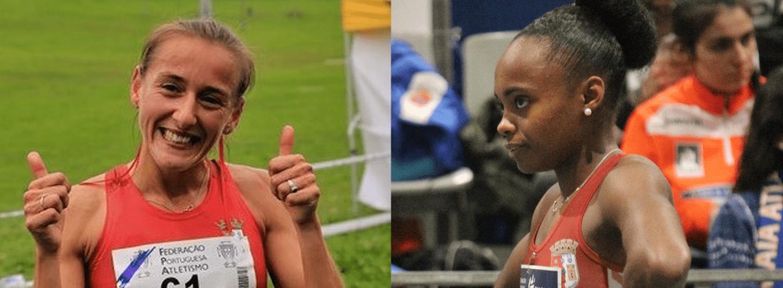Carla Vanessa e Susana Francisco na Campeonato da Europa de Nações 1