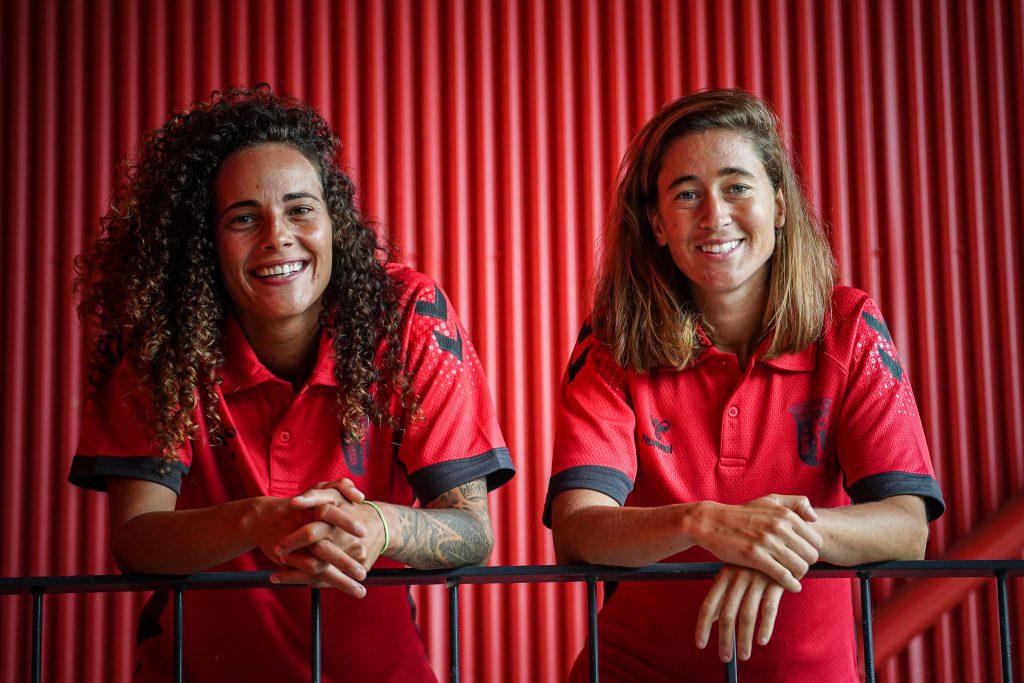 Carolina Mendes e Patrícia Morais são reforços do SC Braga 1