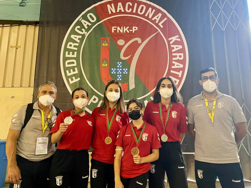 Gverreiras conquistam medalhas no Nacional de Karaté