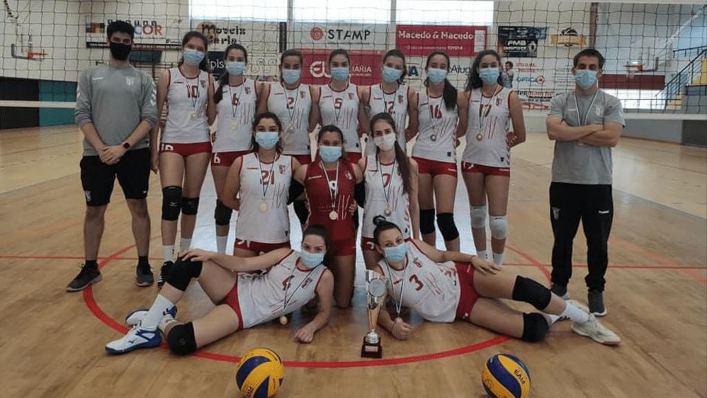 Cadetes vencem Troféu AVB/AVTM/AVVC
