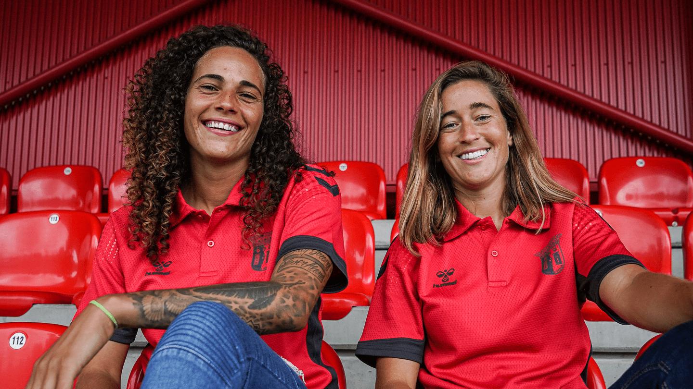 Carolina Mendes e Patrícia Morais são reforços do SC Braga 6