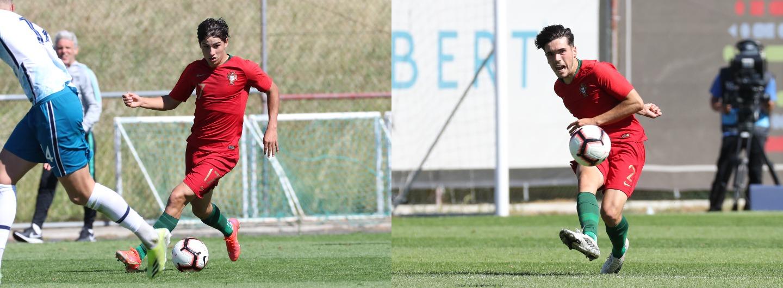 Rodrigo Gomes e André Ferreira em novo triunfo dos Sub-18 1