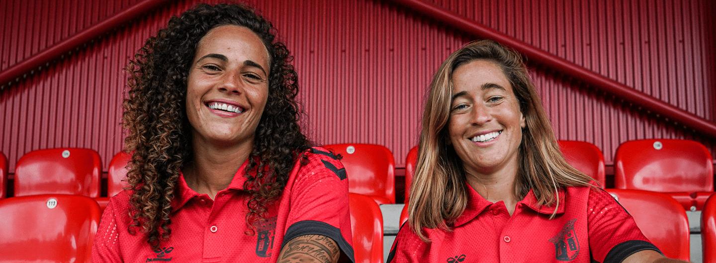 Carolina Mendes e Patrícia Morais são reforços do SC Braga 5