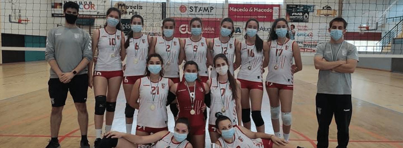 Cadetes vencem Troféu AVB/AVTM/AVVC 2