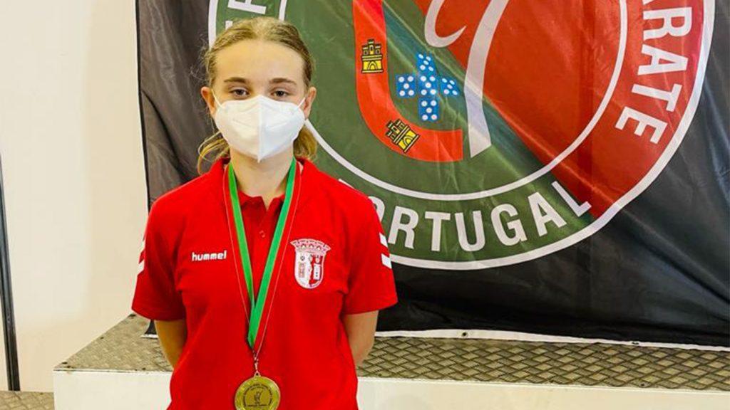 Gverreiros medalhados no Campeonato Nacional de Karaté 12