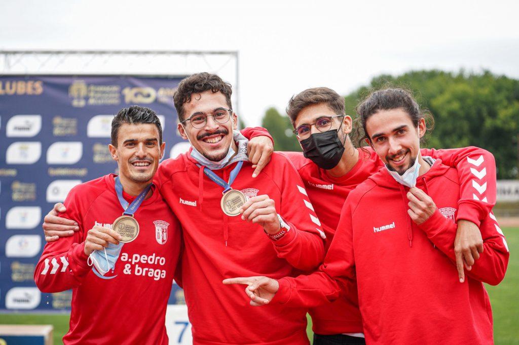 Gverreiros de bronze no Nacional de Clubes 5