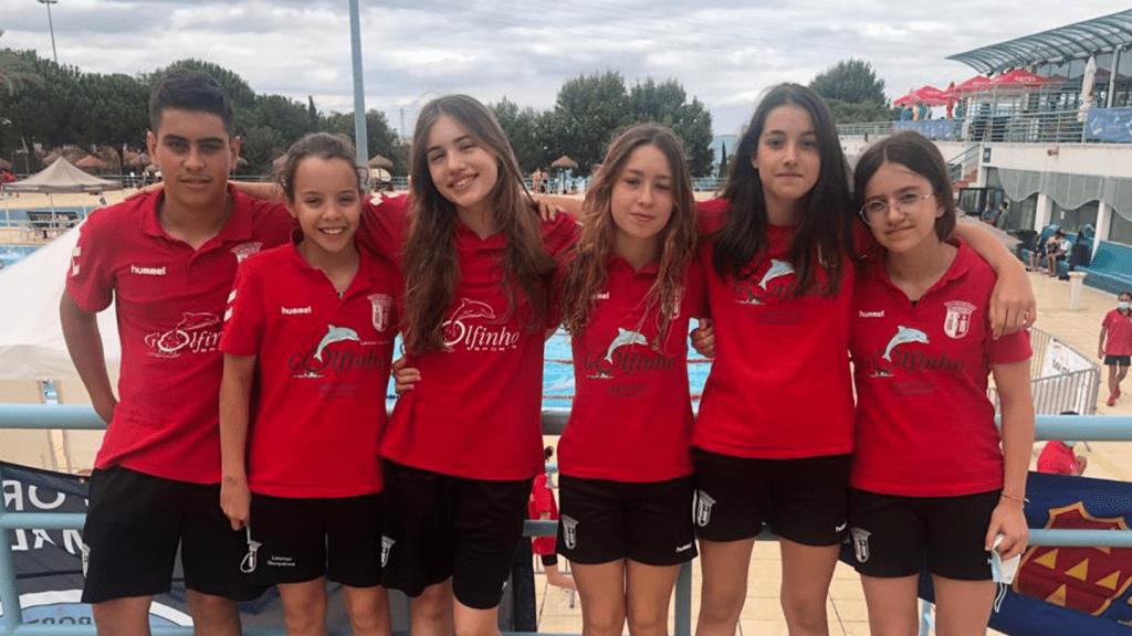 Infantis de natação brilham no Campeonato de Portugal em Piscina Longa
