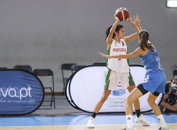 Ana Pinheiro eleita MVP no jogo europeu 1