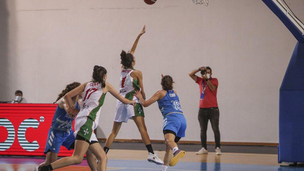 Ana Pinheiro eleita MVP no jogo europeu 2