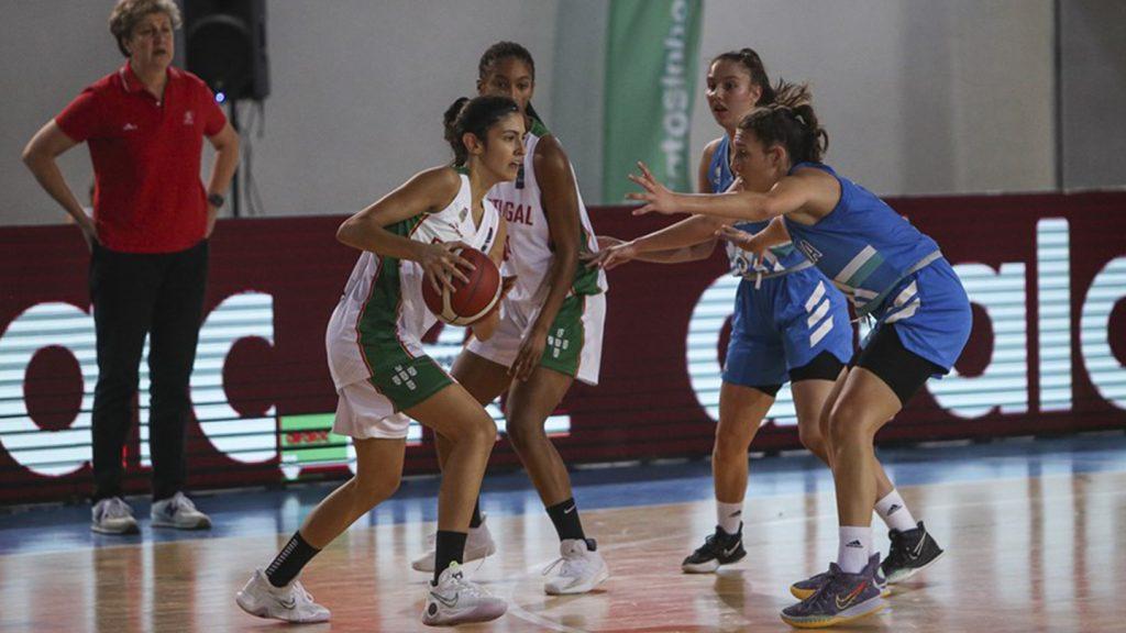 Ana Pinheiro eleita MVP no jogo europeu 3