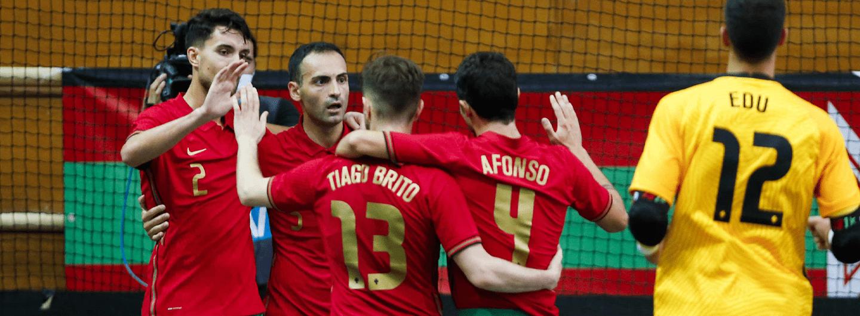 Fábio Cecílio marca pela Seleção Nacional de Futsal 4