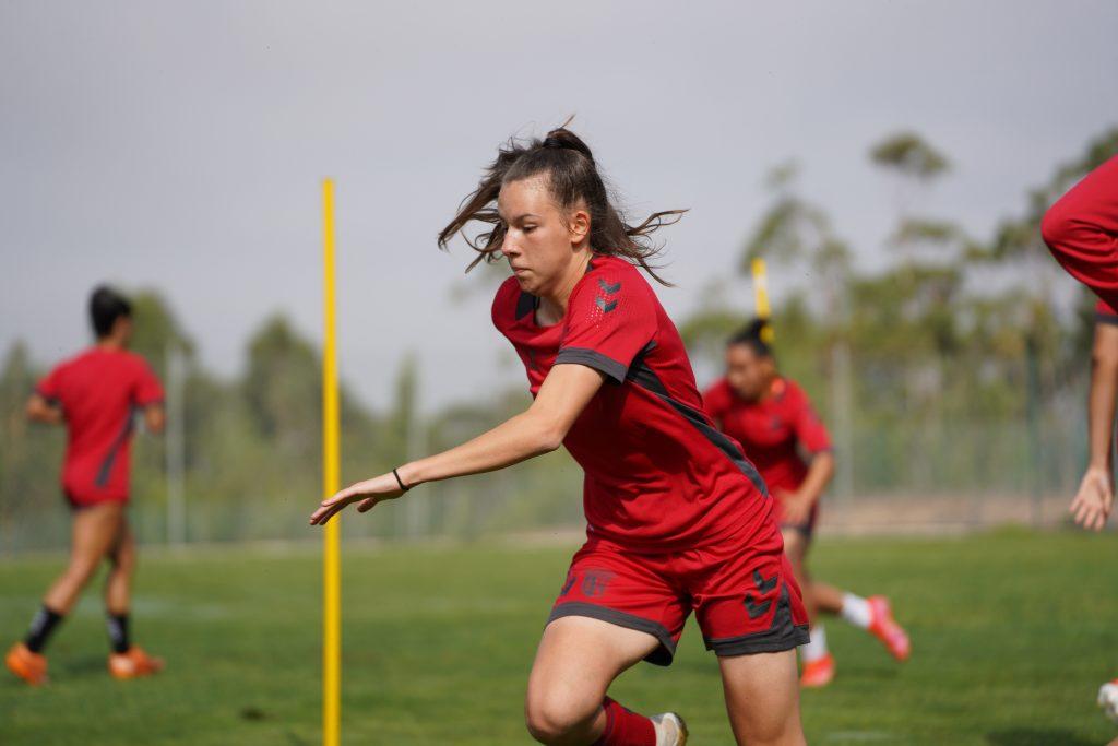 Três Gverreiras na Seleção Feminina Sub-19