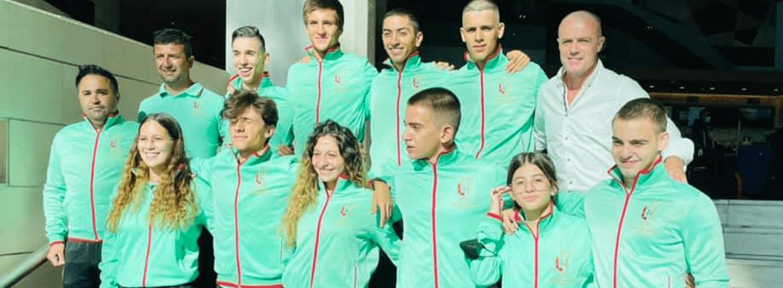 Emma e Léa Barros terminam em 9º lugar no Campeonato da Europa 2