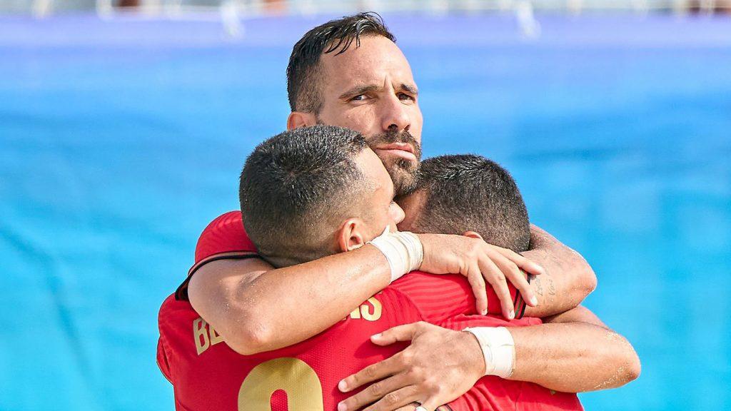 Seis Gverreiros campeões da Europa 2