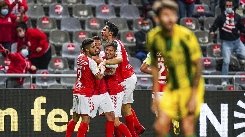 SC Braga vence o CD Tondela 6