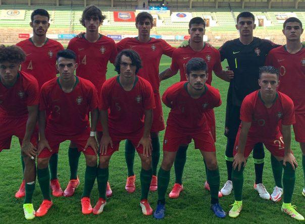 Seleção Nacional Sub-18 vence a Suíça