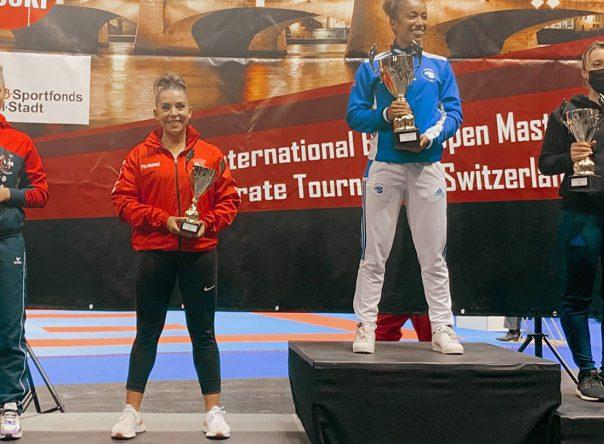 Patrícia Esparteiro conquista medalha de bronze