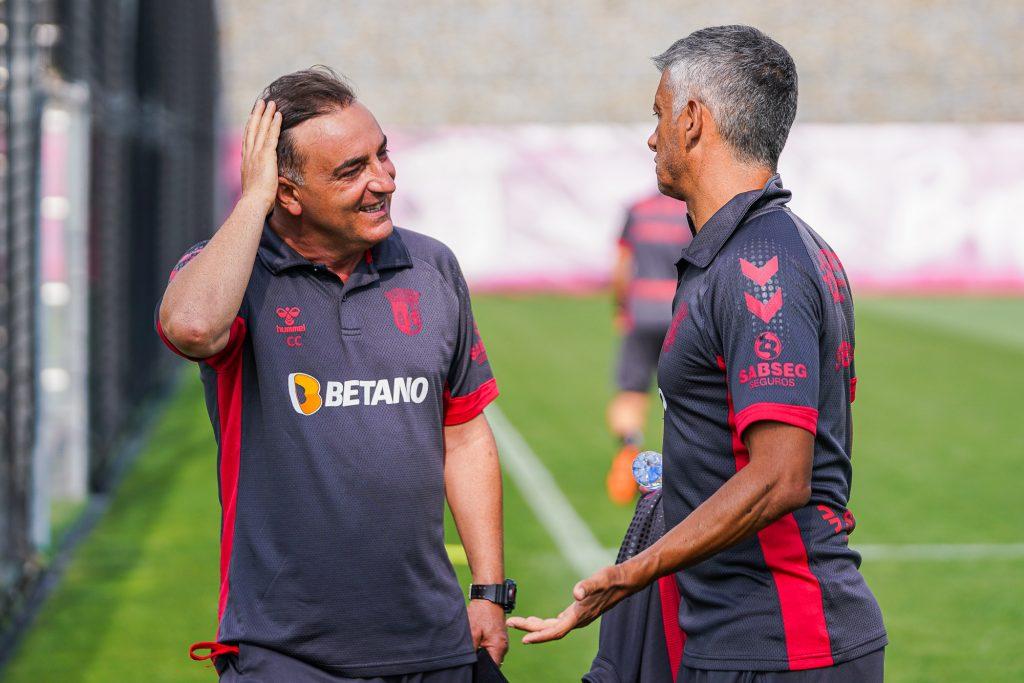 """Carlos Carvalhal: """"A nossa equipa gosta destes desafios"""" 3"""
